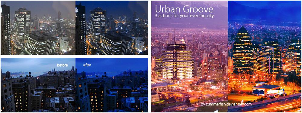 Urban Groove by zummerfish by zummerfish