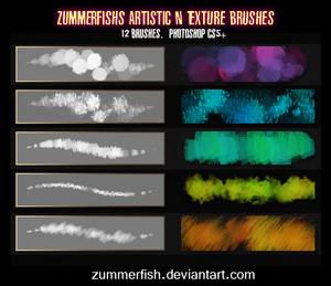 Zummerfish's Artistic N Texture Brushes