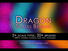 Zummerfish's dragon scales brushes
