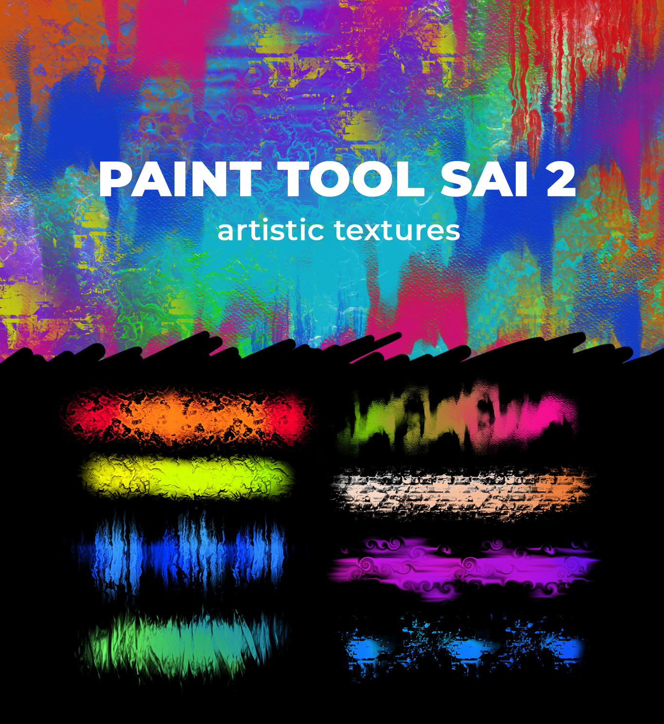 Artistic Textures for Paint Tool Sai 2