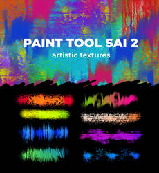Artistic Textures for Paint Tool Sai 2 by zummerfish