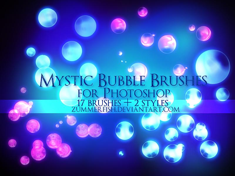 Zummerfish's Mystic Bubbles Brushes by zummerfish