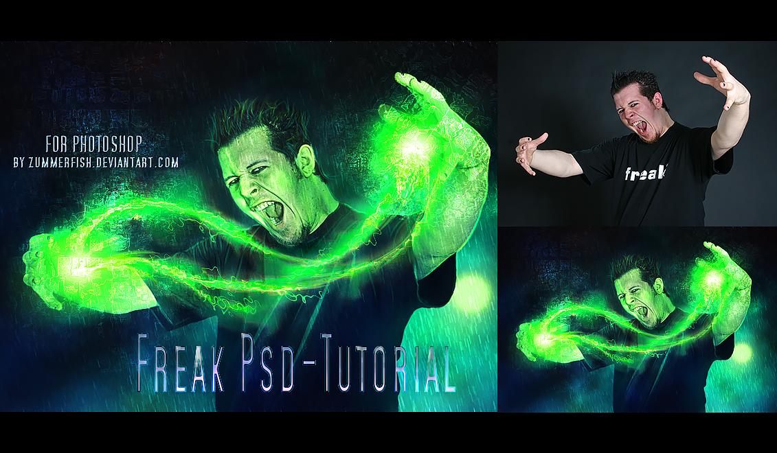Freak PSD Tutorial by zummerfish