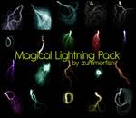 Magical Lightining Image Pack