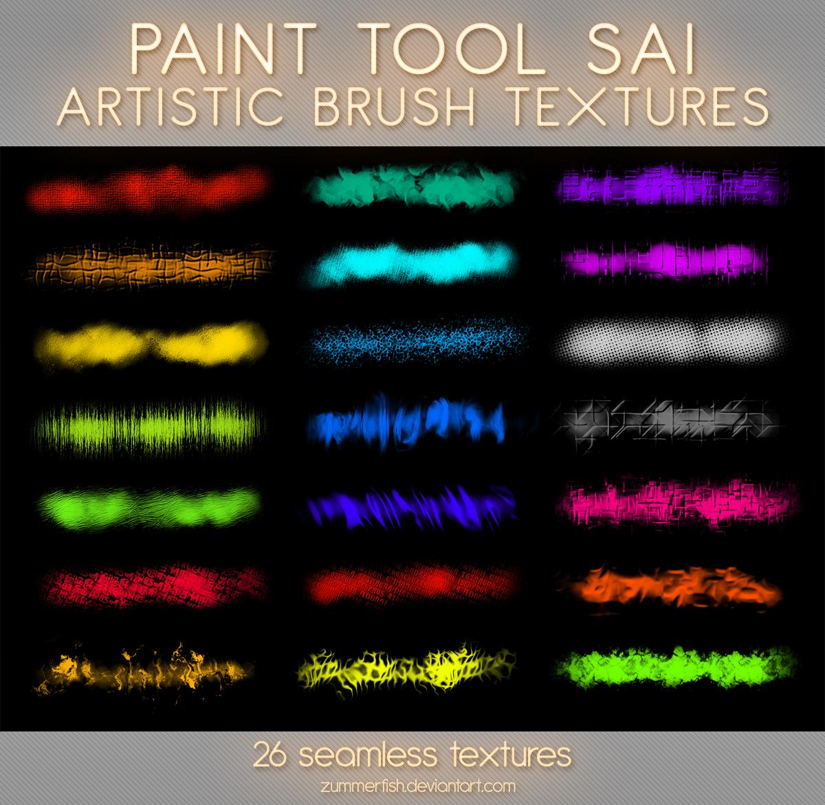 Paint Tool Sai Artistic Textures Vol1