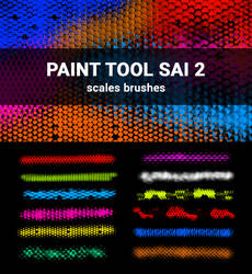 Scales Brushes for Paint Tool Sai 2