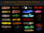 Paint Tool Sai Artistic Textures Vol2 by zummerfish