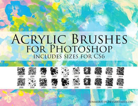 Zummerfish's Acrylic Brushes for Photoshop