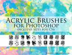 Zummerfish's Acrylic Brushes for Photoshop