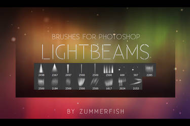 Zummerfish's Lightbeams Brushes