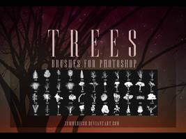 Zummerfish's Trees Brushes