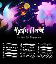 Mystic Floral Brushes By Zummerfish