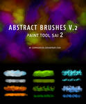 Abstract Brushes For Paint Tool Sai V2