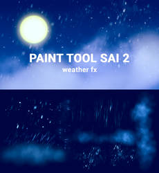 Weather FX for Paint Tool Sai2