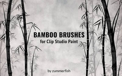 CSP bamboo brushes