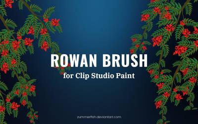 Rowan brush Clip Studio Paint