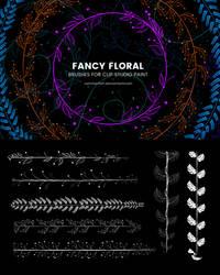 Fancy Floral Brushes for Clip Studio Paint 1.10