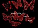 Butterfly brushes pack1