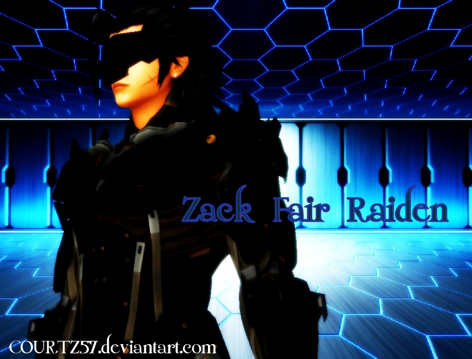 Zack Fair Raiden by COURTZ57