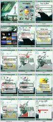 Zelda Link SE 240 x 320 Theme by TricksyPicksy