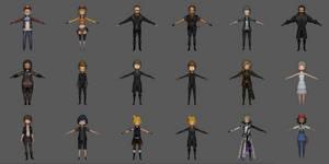 Final Fantasy XV Pocket Edition Model Pack 1