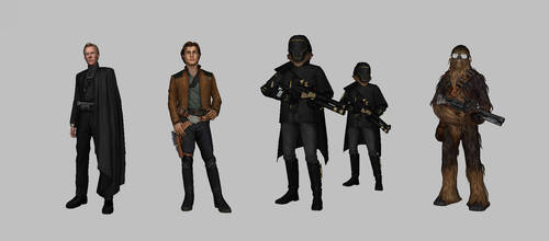 Star Wars: Force Arena - Solo Characters Pack