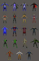 Justice League: Earth's Final Defense - Characters