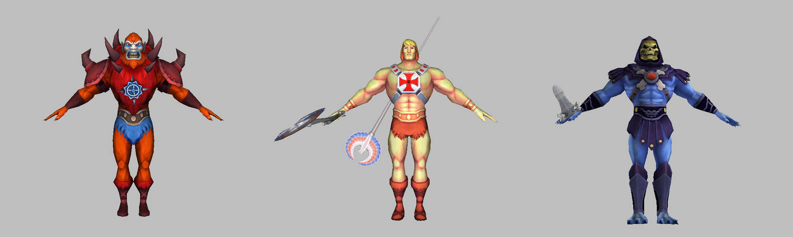 Masters of the Universe VR - Characters
