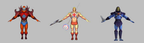 Masters of the Universe VR - Characters by KittyInHiding