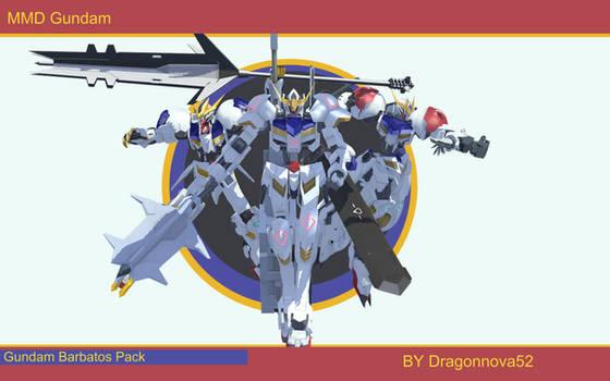 MMD DL Gundam Barbatos Pack