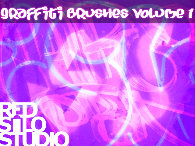 Graffiti Brushes Volume 1 by redsilo