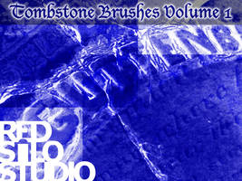 Tombstone Brushes Volume 1 by redsilo