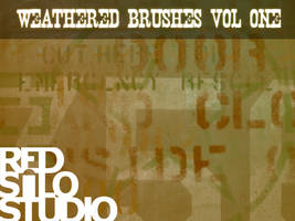 Weathered Brushes Volume 1 by redsilo
