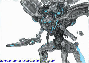 Promethean Knight BLUE by MharkNeilCudal