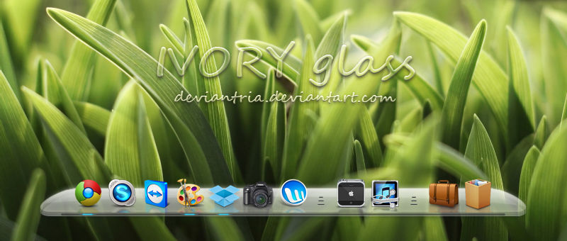 IVORY glass