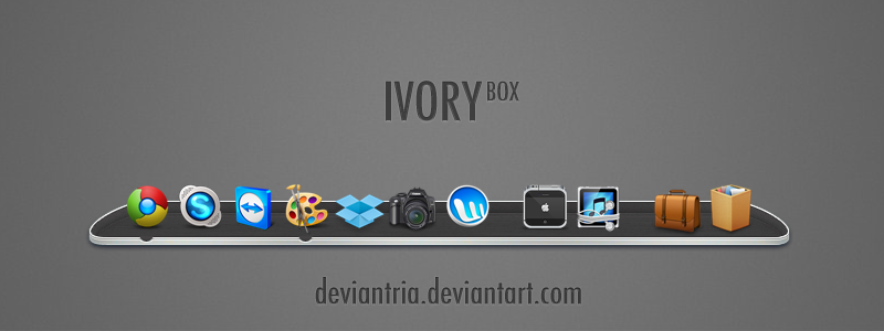 IVORY box by deviantria