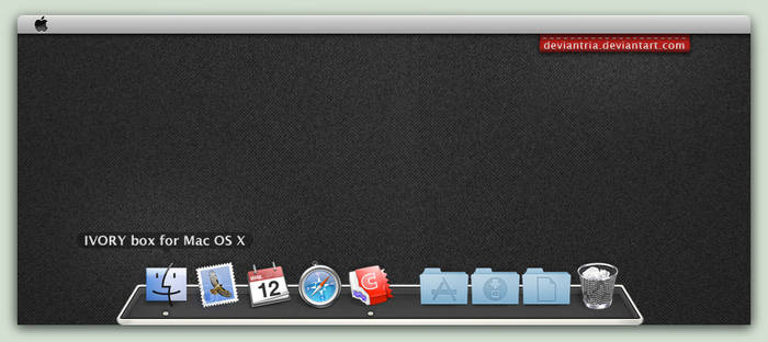 IVORY box : Mac edition