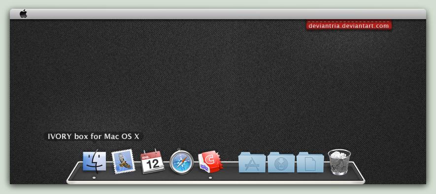 IVORY box : Mac edition by deviantria