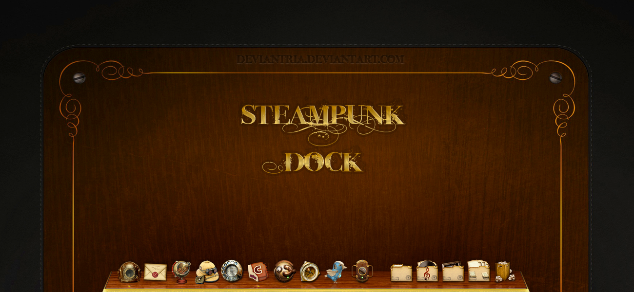 Steampunk dock