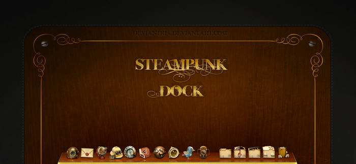Steampunk dock