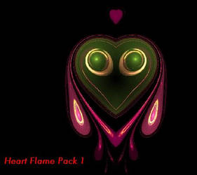 Heart Flame Pack 1 by beeper52