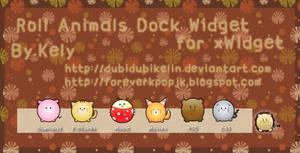 Roll Animals SlideDock