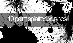 High Quality Splatter Brushes by kirbymonster