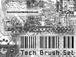 Random Tech Brush Set