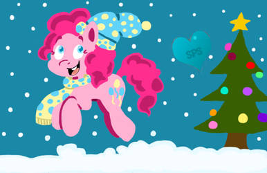 Pinkie Pie Hearthswarming by theshypegasister