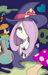 Little Witch Sucy by theshypegasister