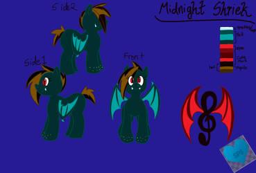 Midnight Shriek by theshypegasister