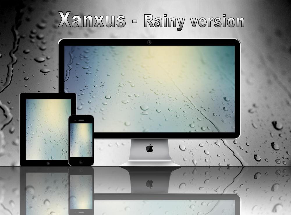 Xanxus - Rainy version by LunaEternity