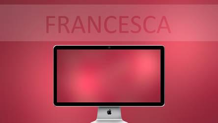Francesca - Wallpaper by LunaEternity