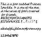 Princess Sparkle Font